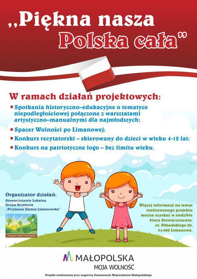 Projekt Pn Piękna Nasza Polska Cała
